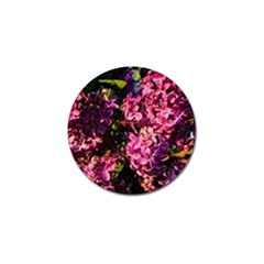 Lilacs Golf Ball Marker by dawnsiegler