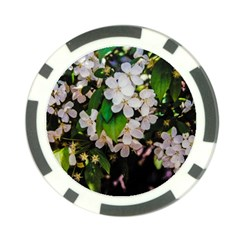 Tree Blossoms Poker Chip Card Guard by dawnsiegler