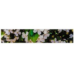Tree Blossoms Flano Scarf (large) by dawnsiegler
