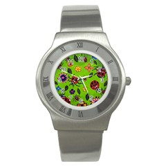 Lucky Ladies Stainless Steel Watch by dawnsiegler