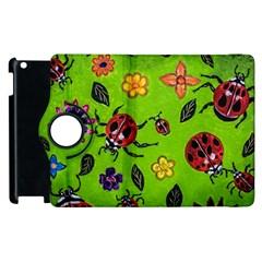 Lucky Ladies Apple Ipad 3/4 Flip 360 Case by dawnsiegler