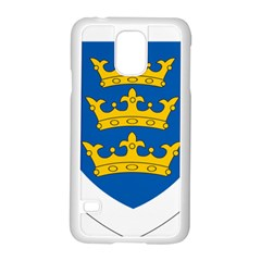 Lordship Of Ireland Coat Of Arms, 1177 1542 Samsung Galaxy S5 Case (white) by abbeyz71