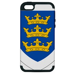 Lordship Of Ireland Coat Of Arms, 1177 1542 Apple Iphone 5 Hardshell Case (pc+silicone) by abbeyz71