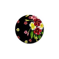 Floral Rhapsody Pt 2 Golf Ball Marker (10 Pack) by dawnsiegler