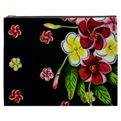 Floral Rhapsody Pt 2 Cosmetic Bag (xxxl)  by dawnsiegler