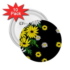 Floral Rhapsody Pt 3 2 25  Buttons (10 Pack)  by dawnsiegler