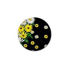 Floral Rhapsody Pt 3 Golf Ball Marker by dawnsiegler