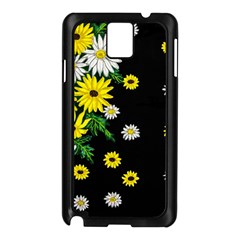 Floral Rhapsody Pt 3 Samsung Galaxy Note 3 N9005 Case (black) by dawnsiegler