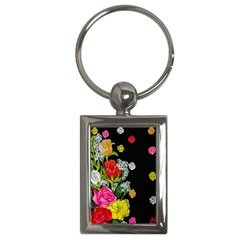 Floral Rhapsody Pt 4 Key Chains (rectangle)  by dawnsiegler