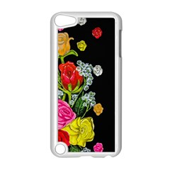 Floral Rhapsody Pt 4 Apple Ipod Touch 5 Case (white) by dawnsiegler
