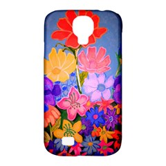 Spring Pastels Samsung Galaxy S4 Classic Hardshell Case (pc+silicone) by dawnsiegler