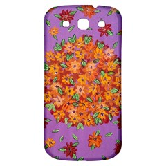Floral Sphere Samsung Galaxy S3 S Iii Classic Hardshell Back Case by dawnsiegler