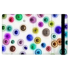 Colorful Concentric Circles        Kindle Fire (1st Gen) Flip Case by LalyLauraFLM