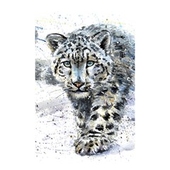 Snow Leopard 1 Shower Curtain 48  X 72  (small)  by kostart