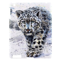 Snow Leopard 1 Apple Ipad 3/4 Hardshell Case by kostart