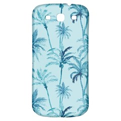 Watercolor Palms Pattern  Samsung Galaxy S3 S Iii Classic Hardshell Back Case by TastefulDesigns