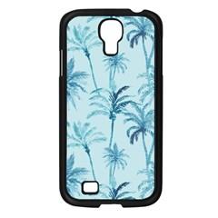 Watercolor Palms Pattern  Samsung Galaxy S4 I9500/ I9505 Case (black) by TastefulDesigns