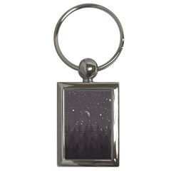 Night Full Star Key Chains (rectangle)  by berwies