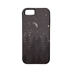 Night Full Star Apple Iphone 5 Classic Hardshell Case (pc+silicone) by berwies