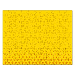 Yellow Star Light Space Rectangular Jigsaw Puzzl by Mariart