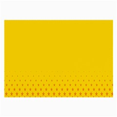 Yellow Star Light Space Large Glasses Cloth (2 Side) by Mariart