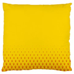 Yellow Star Light Space Large Cushion Case (two Sides) by Mariart