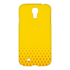 Yellow Star Light Space Samsung Galaxy S4 I9500/i9505 Hardshell Case by Mariart