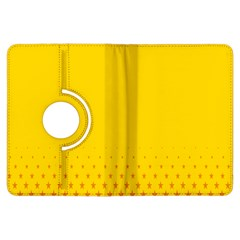Yellow Star Light Space Kindle Fire Hdx Flip 360 Case by Mariart