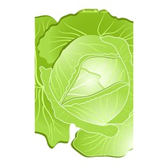 Cabbage Leaf Vegetable Green Shower Curtain 48  X 72  (small)  by Mariart