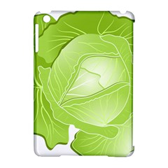 Cabbage Leaf Vegetable Green Apple Ipad Mini Hardshell Case (compatible With Smart Cover) by Mariart