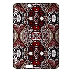 Batik Fabric Kindle Fire Hdx Hardshell Case by Mariart