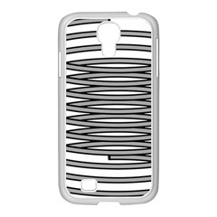 Circular Iron Samsung Galaxy S4 I9500/ I9505 Case (white) by Mariart