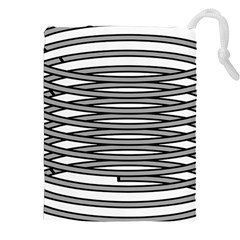 Circular Iron Drawstring Pouches (xxl) by Mariart