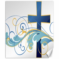 Easter Clip Art Free Religious Canvas 8  X 10  by Mariart