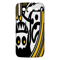 Easter Monster Sinister Happy Magic Rock Mask Face Polka Yellow Samsung Galaxy Mega 5 8 I9152 Hardshell Case  by Mariart