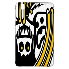 Easter Monster Sinister Happy Magic Rock Mask Face Polka Yellow Samsung Galaxy Tab Pro 8 4 Hardshell Case by Mariart