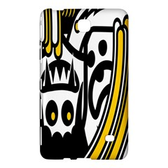 Easter Monster Sinister Happy Magic Rock Mask Face Polka Yellow Samsung Galaxy Tab 4 (7 ) Hardshell Case  by Mariart