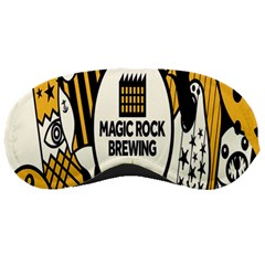 Easter Monster Sinister Happy Magic Rock Mask Face Yellow Magic Rock Sleeping Masks by Mariart