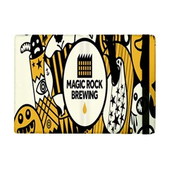 Easter Monster Sinister Happy Magic Rock Mask Face Yellow Magic Rock Apple Ipad Mini Flip Case by Mariart