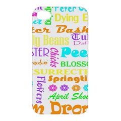 Easter Subway Blossoms Color Rainbow Chocolate Apple Iphone 4/4s Hardshell Case by Mariart
