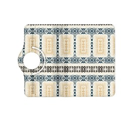 Fabric Star Flower Floral Kindle Fire Hd (2013) Flip 360 Case by Mariart