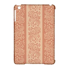 Flower Floral Leaf Frame Star Brown Apple Ipad Mini Hardshell Case (compatible With Smart Cover) by Mariart