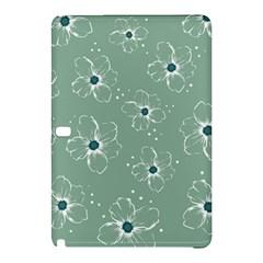 Flower Floral Sakura Sunflower Rose Blue Samsung Galaxy Tab Pro 12 2 Hardshell Case by Mariart