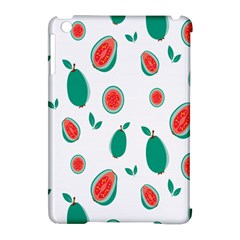 Fruit Green Red Guavas Leaf Apple Ipad Mini Hardshell Case (compatible With Smart Cover) by Mariart