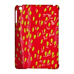 Fruit Seed Strawberries Red Yellow Frees Apple Ipad Mini Hardshell Case (compatible With Smart Cover) by Mariart