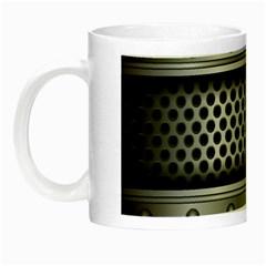 Iron Content Hole Mix Polka Dot Circle Silver Night Luminous Mugs by Mariart
