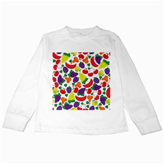 Fruite Watermelon Kids Long Sleeve T Shirts by Mariart