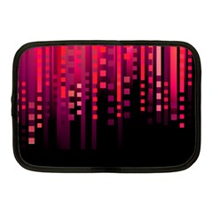 Line Vertical Plaid Light Black Red Purple Pink Sexy Netbook Case (medium)  by Mariart