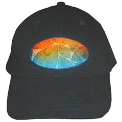 Leaf Color Sam Rainbow Black Cap by Mariart