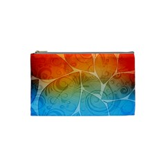Leaf Color Sam Rainbow Cosmetic Bag (small)  by Mariart